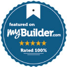 Featured on myBuilder.com Rated 100%